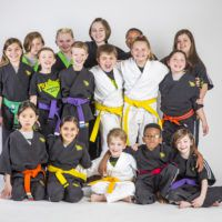 karate young children group